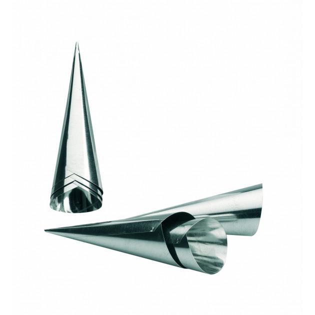 Moule à Cornet Inox Ø 3,5 cm x H 11 cm (x6) Ibili