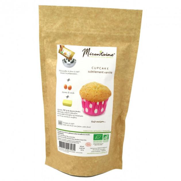 Cupcakes BIO Nature Vanille 250g Mirontaine