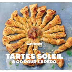 Livre de cuisine Tartes Soleil & Co pour l'Apéro, chez Hachette