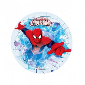 FIN DE SERIE Disque Azyme Spiderman 21 cm Toile