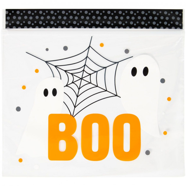 Sachets Cellophane Confiserie Halloween