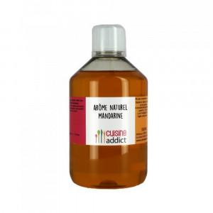 Arôme Alimentaire Naturel Mandarine 500 ml Cuisineaddict