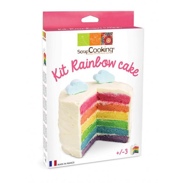 Kit Rainbow Cake Scrapcooking