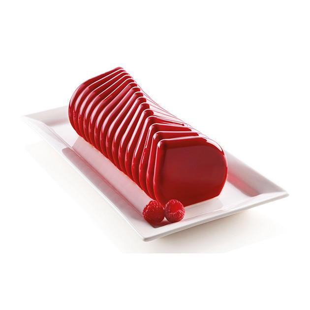 Moule Silicone Corallo 24,5 x 9 x H 9 cm Silikomart 3D Design