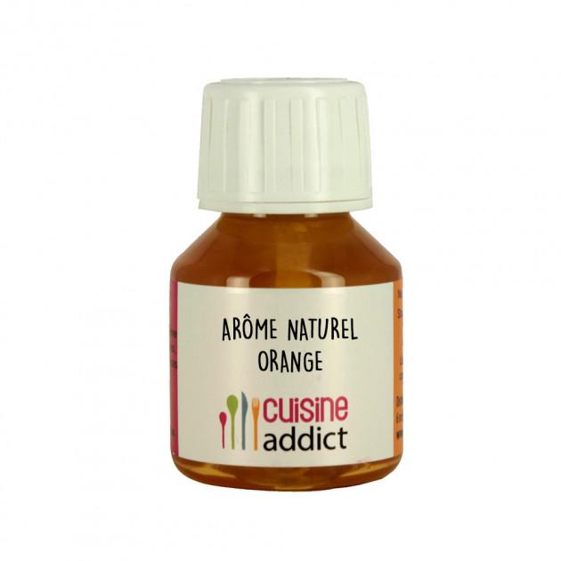 Arôme Alimentaire Naturel Orange 58 ml Cuisineaddict