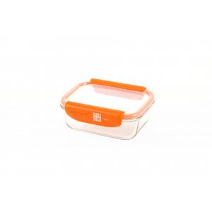 Boîte de Conservation Connectée 640 ml Orange Stor'eat Mastrad