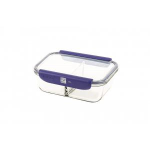 Boîte de Conservation Connectée avec Compartiments 1,45 L Bleu Stor'eat Mastrad