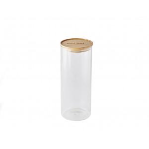 Bocal en Verre 2,1 L avec Couvercle Bambou Stor'eat Mastrad