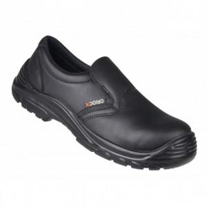 FIN DE SERIE Chaussures de Cuisine T.47 Noir QUINTANAR Robur