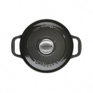 Mini Cocotte en Fonte Ronde 10 cm Caviar Chasseur