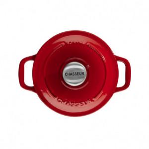 Mini Cocotte en Fonte Ronde 14 cm Rubis Chasseur