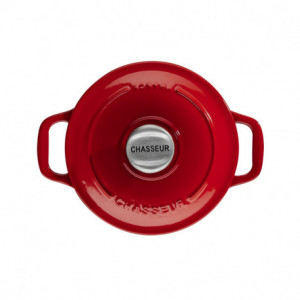 Mini Cocotte en Fonte Ronde 16 cm Rubis Chasseur