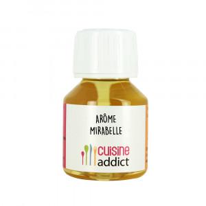 Arôme alimentaire Mirabelle 58 ml Cuisineaddict