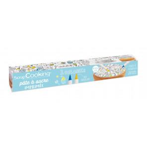 Pâte à Sucre à Colorier ⌀ 29,5 cm 150g Scrapcooking