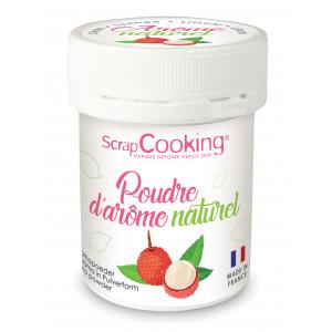 Arôme Naturel en Poudre Litchi 15 g Scrapcooking