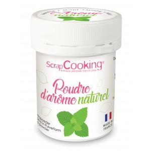 Arôme Naturel en Poudre Menthe 15 g Scrapcooking