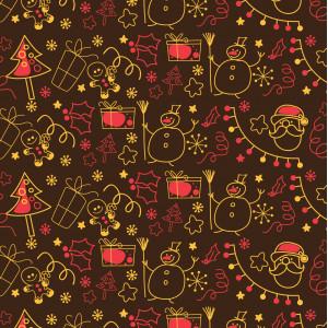 Feuille Transfert Chocolat Noël Enfantin 250x400 mm (x10) Florensuc