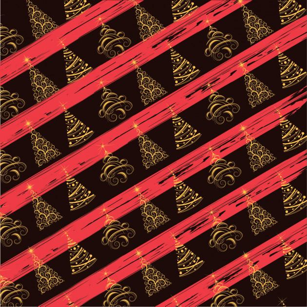 Feuille Transfert Chocolat Sapin de Noël 250x400 mm (x3) Florensuc