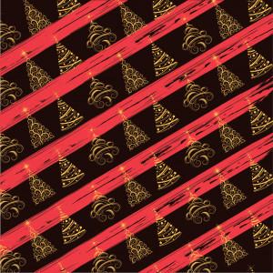 Feuille Transfert Chocolat Sapin de Noël 250x400 mm (x10) Florensuc