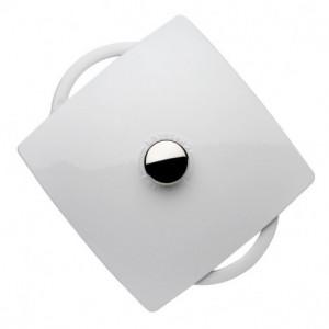Cocotte en Fonte Carronde 24 cm Blanc Chasseur