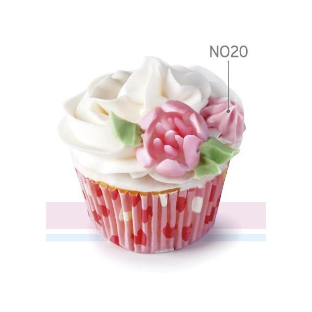 Douille Inox à Cupcake