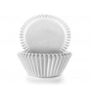 Grande Caissette Cupcake Blanc Ø 7,5 cm x H 4 cm (x100) Ibili