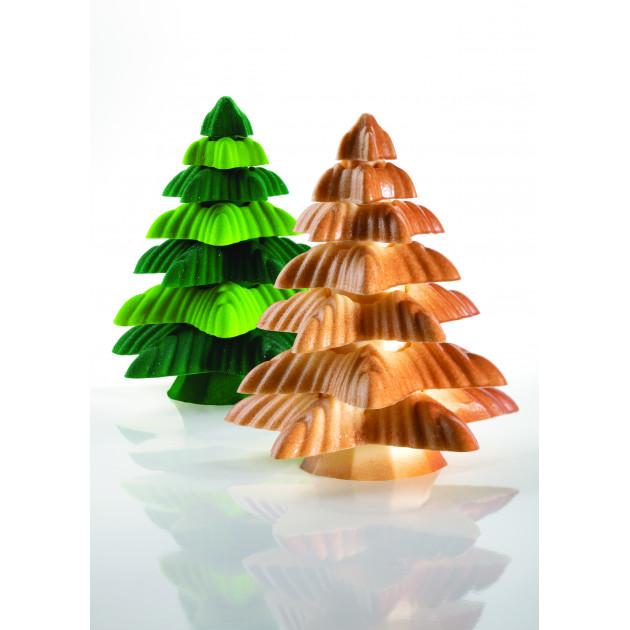 Moule Chocolat Sapin de Noël Fringe Ø 13,5 x H 15 cm (x1) Pavoni