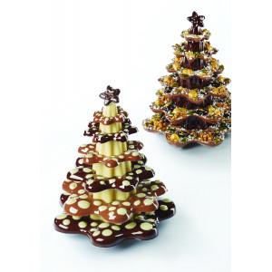 Moule Chocolat Sapin de Noël Ring Ø 16 x H 20 cm (x1) Pavoni