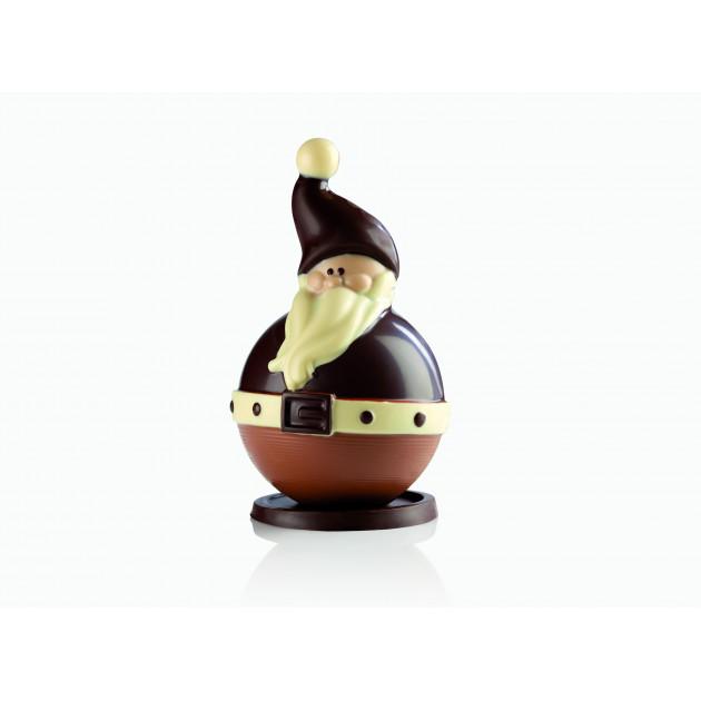 Moule Chocolat Père Noël Ø 10,5 x H 17 cm (x2) Pavoni