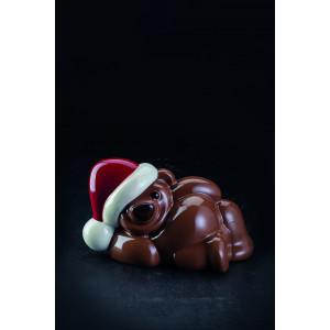 Moule Chocolat Ourson Teddy 18,5 x 11 cm x H 10,6 cm (x2) Pavoni