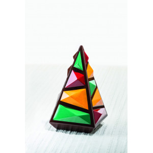 Moule Chocolat Sapin de Noël Rocky 12,5 x H 19,5 cm (x2) Pavoni