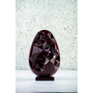 Moule Chocolat Oeuf Picasso Ø 14 x H 21,5 cm (x2) Pavoni
