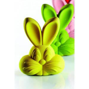 Moule Chocolat Lapin Roger 15,5 x 11 cm x H 20 cm (x2) Pavoni