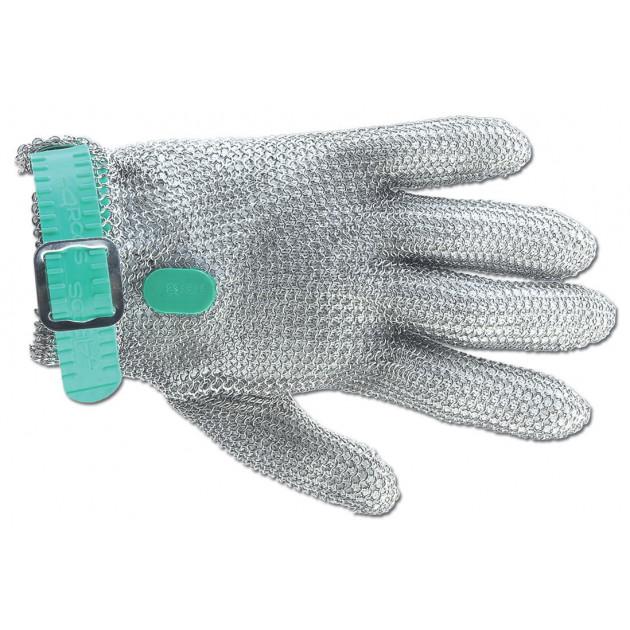 Gant de Protection en Cotte de Maille XS Vert Arcos