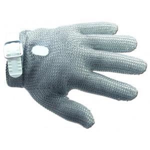 Gant de Protection en Cotte de Maille S Blanc Arcos