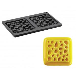 Moule Silicone Décor Éponge 13,5 cm x H 1 cm (x2) Pavoni