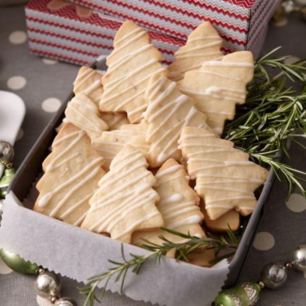 Biscuits de Noël - sapins