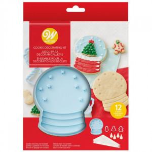 Kit Biscuit Boule à Neige 12 pièces Wilton