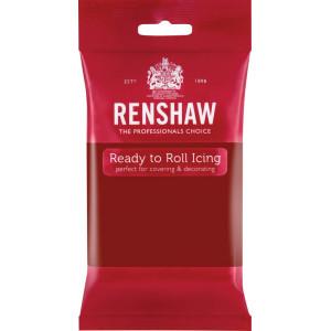 Pâte à Sucre Pro Ruby Red 250g Renshaw