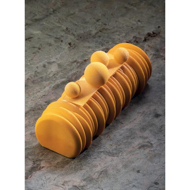 Moule Silicone Bûche Séquoïa 25 x 9,2 cm x H 7,4 cm Pavoni