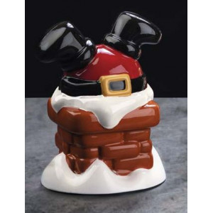Moule Chocolat Père Noël Cheminée Ø 12,5 cm x H 17 cm (x2) Pavoni