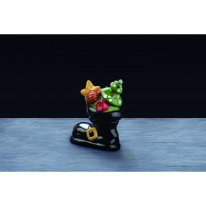 Moule Chocolat Botte du Père Noël 16 x 8 cm x H 18 cm (x2) Pavoni