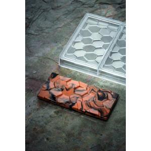 Moule Tablette Chocolat Pavé 15,5 x 7,8 cm x H 1 cm (x3) Pavoni