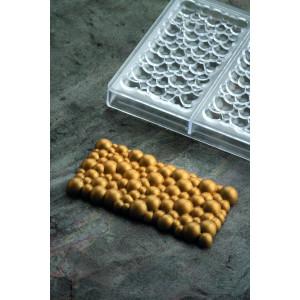 Moule Tablette Chocolat Pétillant 15 x 7,7 cm x H 1,2 cm (x3) Pavoni