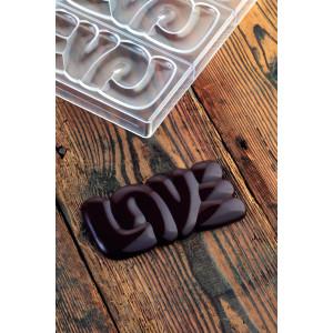 Moule Tablette Chocolat Lovely 15 x 7,6 cm x H 1 cm (x3) Pavoni