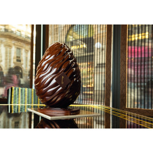 Moule Chocolat Oeuf Fluide Ø 14 cm x H 20,5 cm (x2) Pavoni