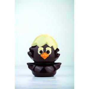 Moule Chocolat Poussin 13,2 x 12,5 cm x H 16 cm (x2) Pavoni