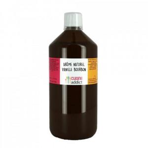 Arôme Alimentaire Naturel Vanille Bourbon 400 g 1 L Cuisineaddict