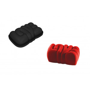 Moule Silicone Lovely 16,6 x 10,3  cm x H 4 cm Pavoni