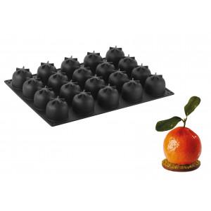 Moule Silicone Orange Ø 5,7 cm x H 5 cm (x20) Pavoflex